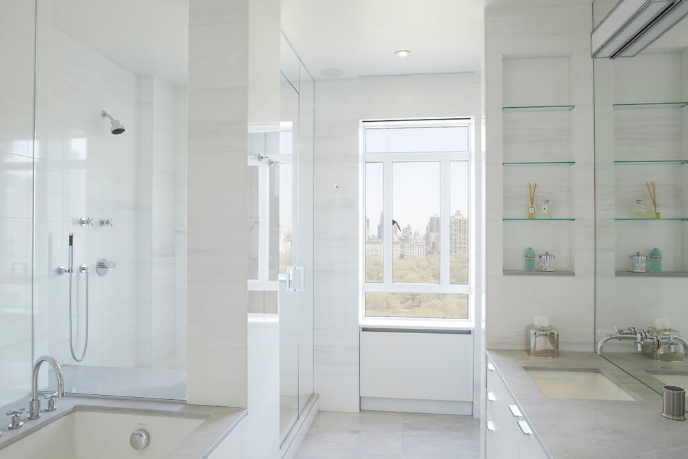 fürdőszobai üvegpolc Magasút