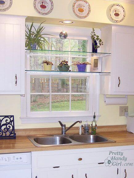 konyhai uvegpolc Laposdűlő