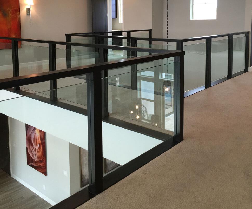 üvegkorlát beépítés Gercse