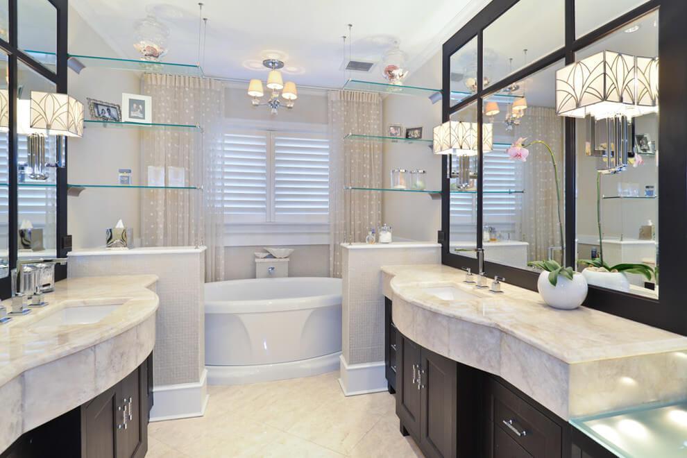 üvegpolc fürdőszobába Népsziget