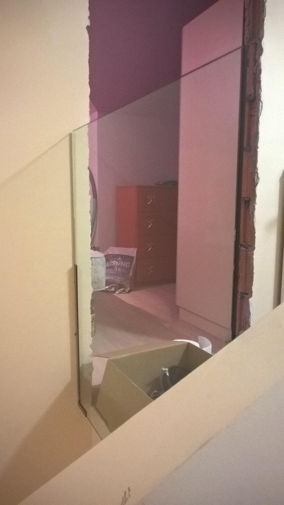 Üvegkorlát, irodafal 36