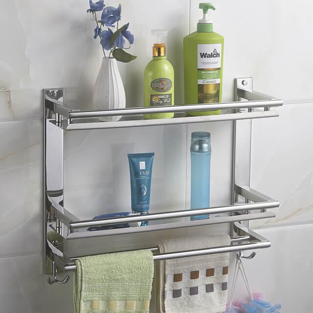 fürdőszoba üvegpolc Albertfalva