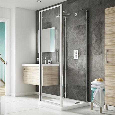 3 oldalú zuhanykabin